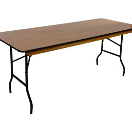 Rectangular Table 8'x30″ Seats 8