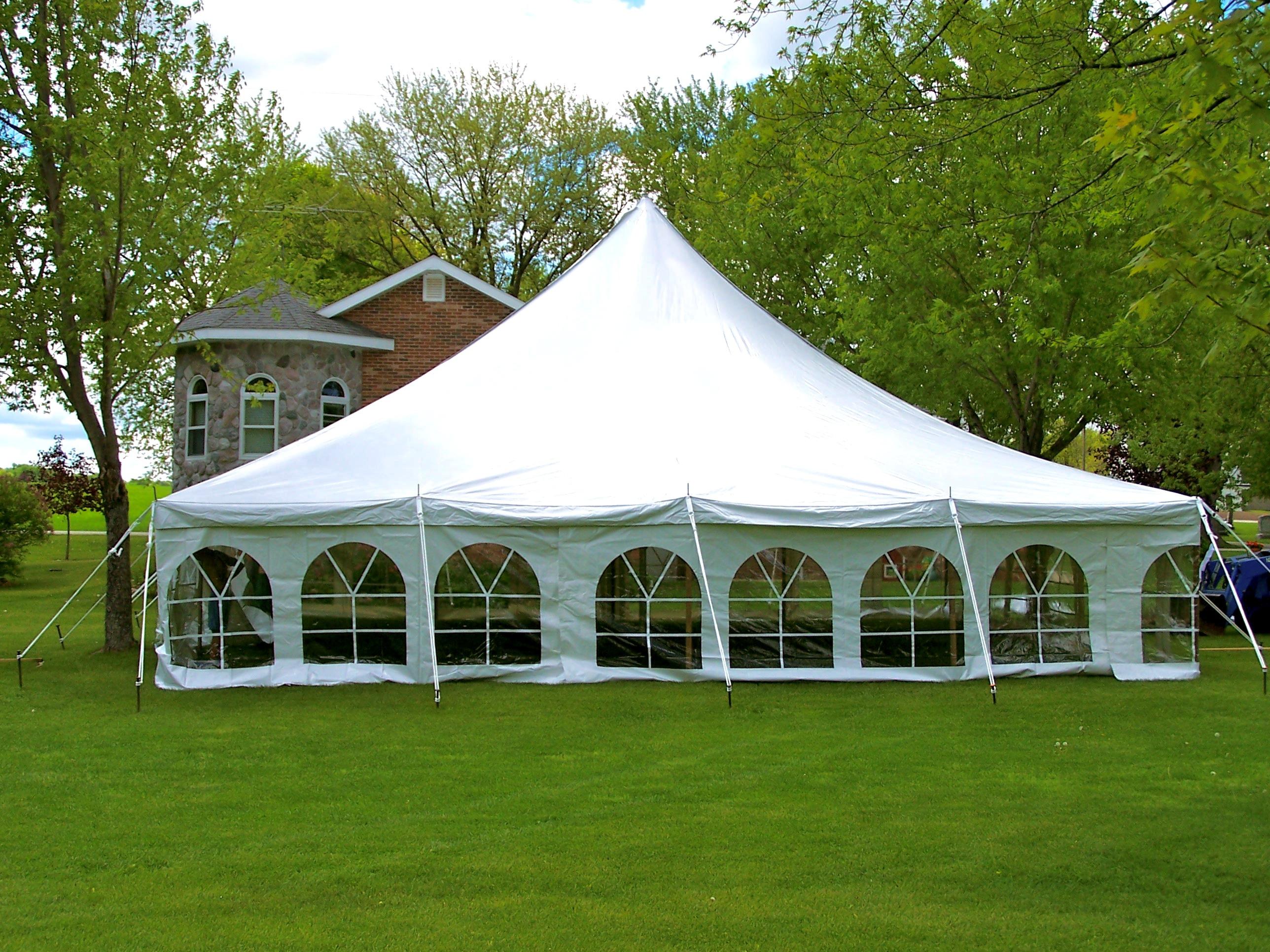 40 x 40 Pole Tent & 40 x 40 Pole Tent |