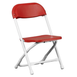 Kids Folding Chair – Red Only