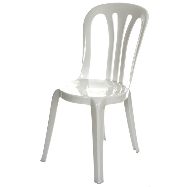 Bistro Chair  White only